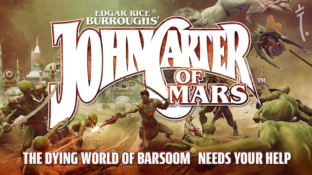 John Carter Of Mars Is Getting An Action-Packed Romance RPG