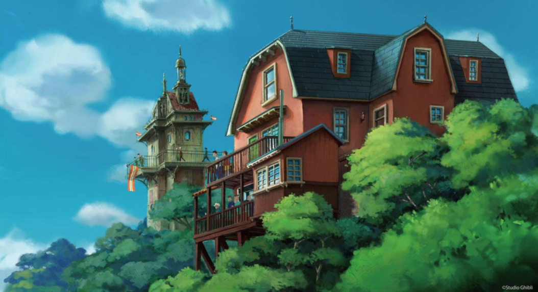 First Look At The Studio Ghibli Theme Park's Official Concept Art