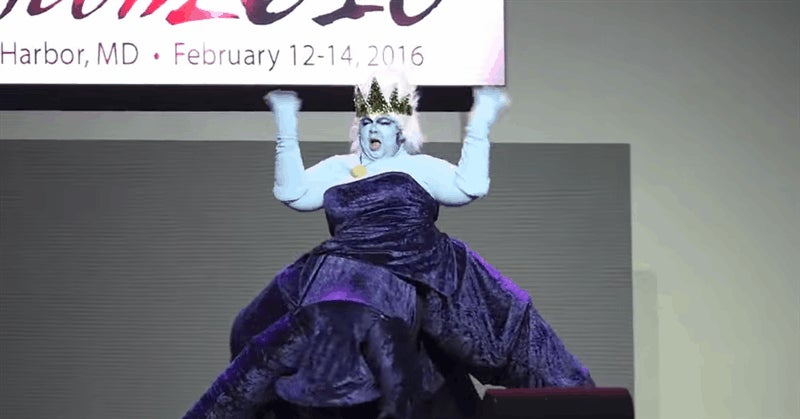 Ursula Cosplay Is A Drag Show Masterpiece