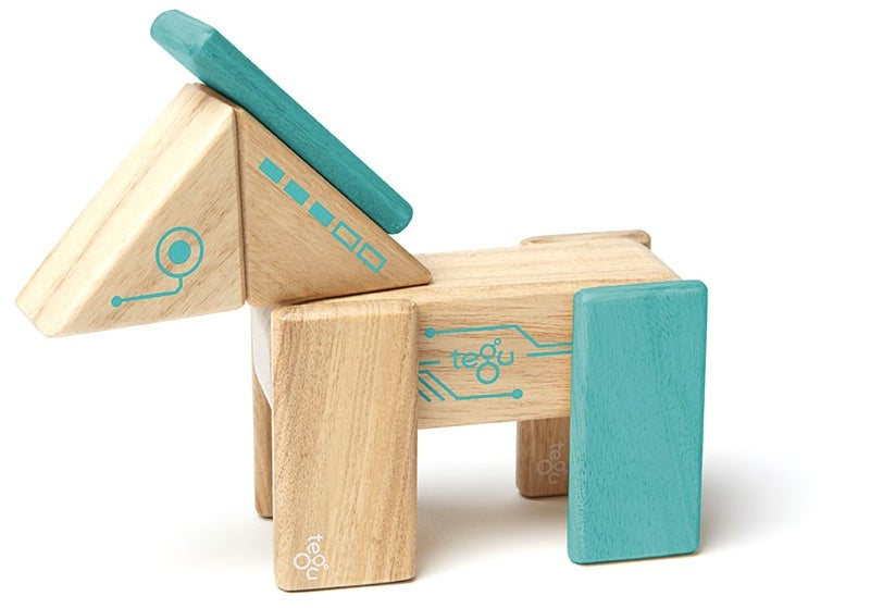 Build Yourself Some Bots With Tegu's Magnetic Wooden Blocks