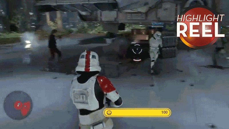 Stormtrooper Gives In To His Anger