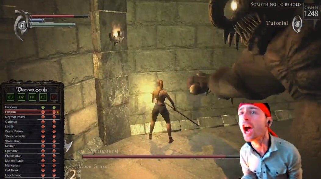 Twitch Streamer's Perfect Run Of All Soulsborne Games Fails When He Tries To Kill 69 Bosses