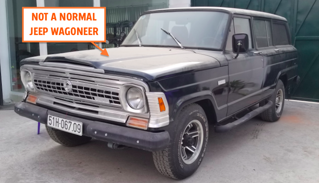 I Went To Vietnam And Discovered A Custom Jeep Wagoneer Unlike Any Wagoneer You've Ever Seen