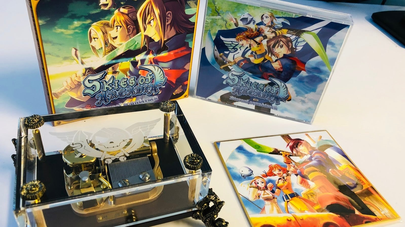 This Skies Of Arcadia Music Box Is Making My Heart Melt