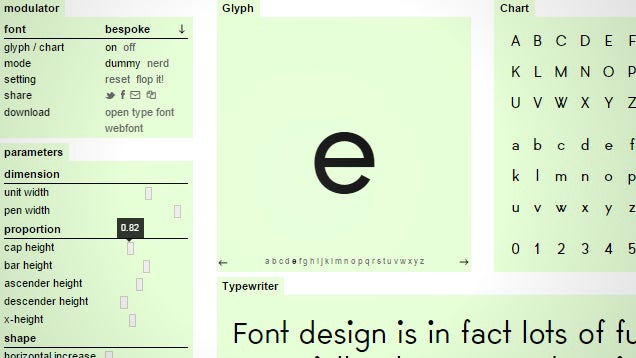 Metaflop Lets You Create and Customise Your Own Fonts for Free