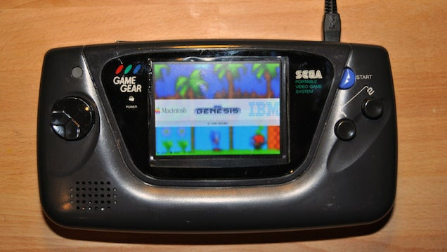 Convert an Old Game Gear Into a Multi-System Retro Game Console