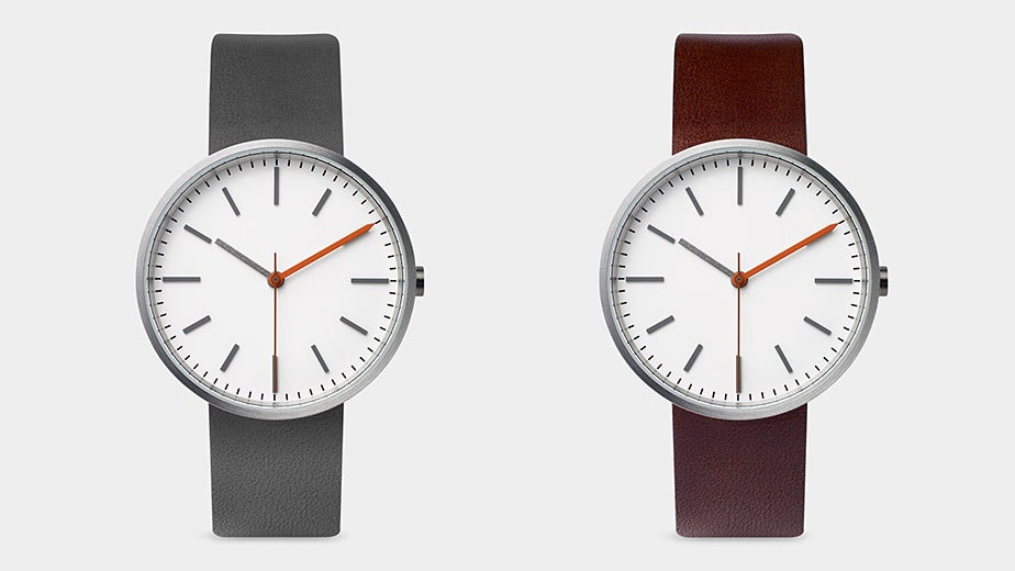 This Bauhaus-Inspired Watch Is Smart Because It's So Simple
