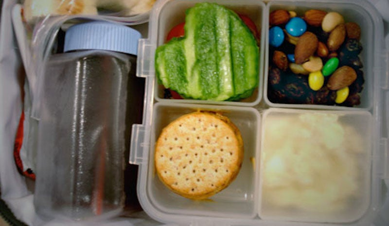Set Up A Packing Station To Encourage Kids To Make Their Own Lunch