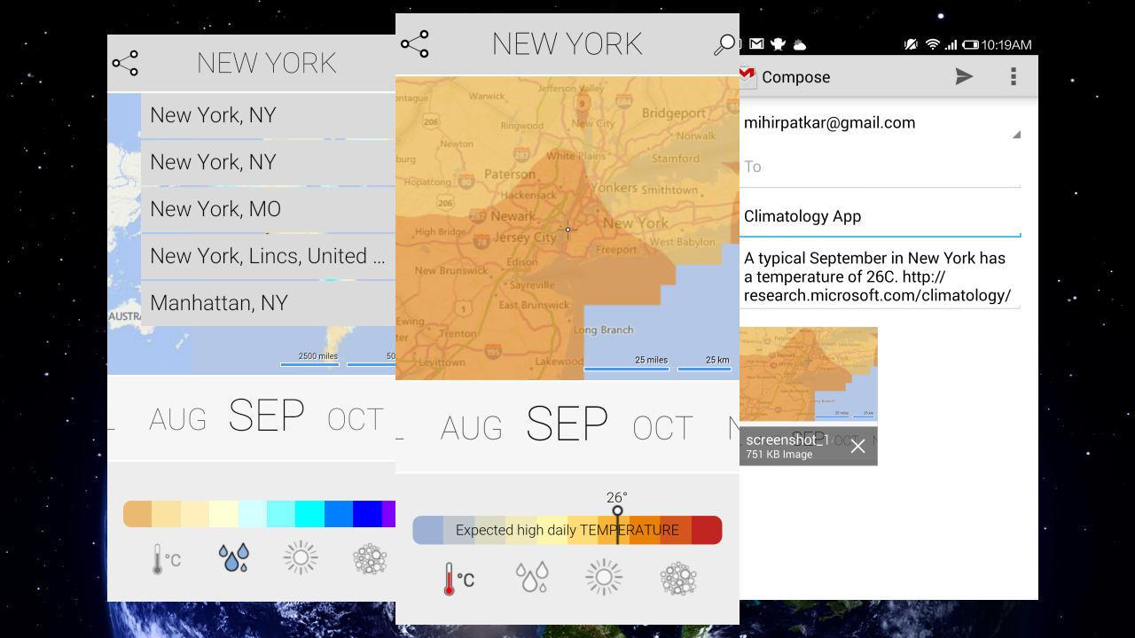Climatology Shows Average Weather Conditions in Any Place, Any Month