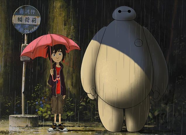 Disney Artist Pays Homage To Studio Ghibli