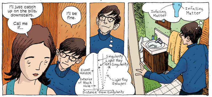 Stephen Hawking's Graphic Novel Biography Shows How He Saw The World, And The Universe
