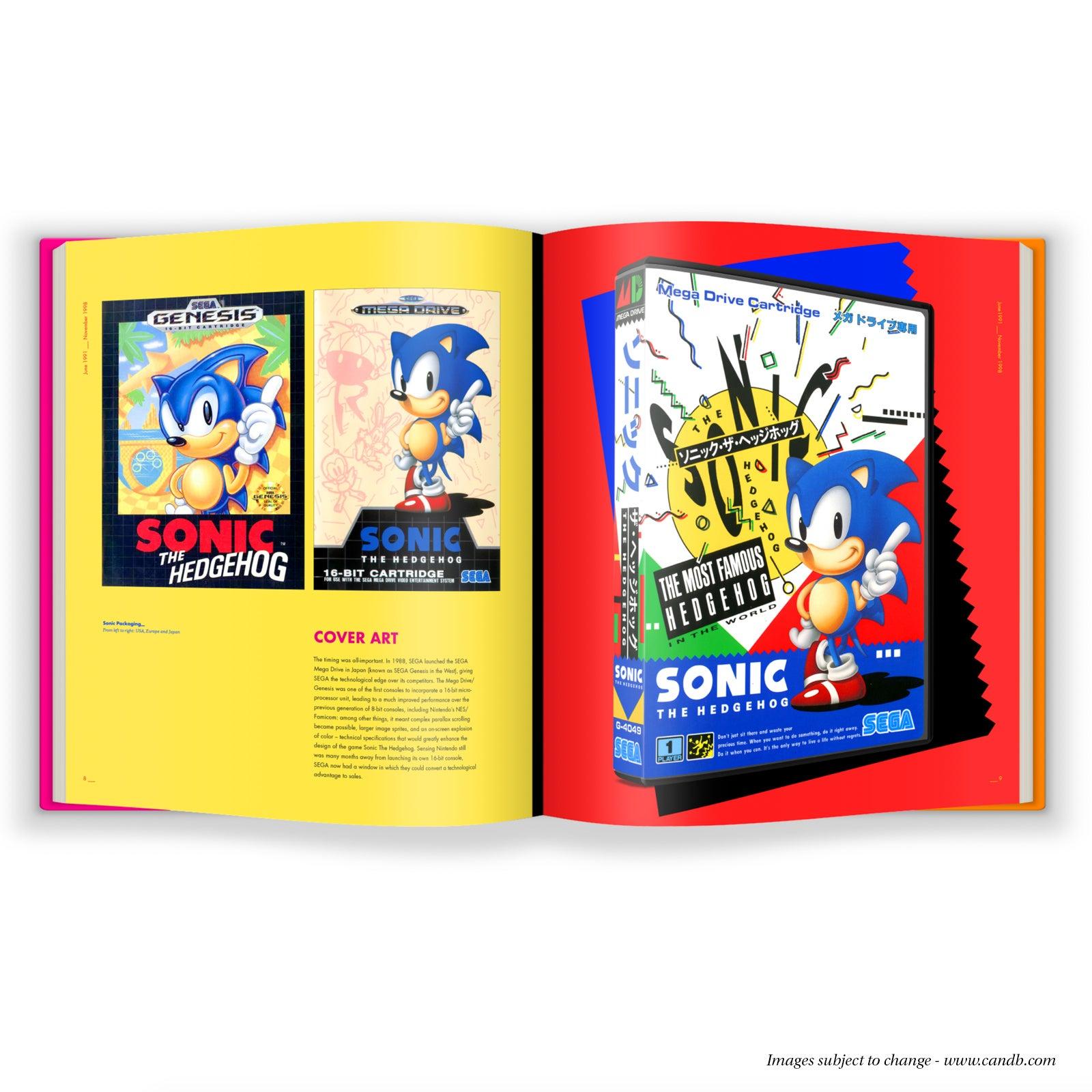Fine Art Sonic The Hedgehog s Fancy Coffee Table Art Book