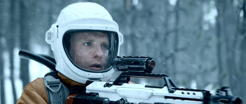 This sci-fi death match in space short is better than Hollywood movies