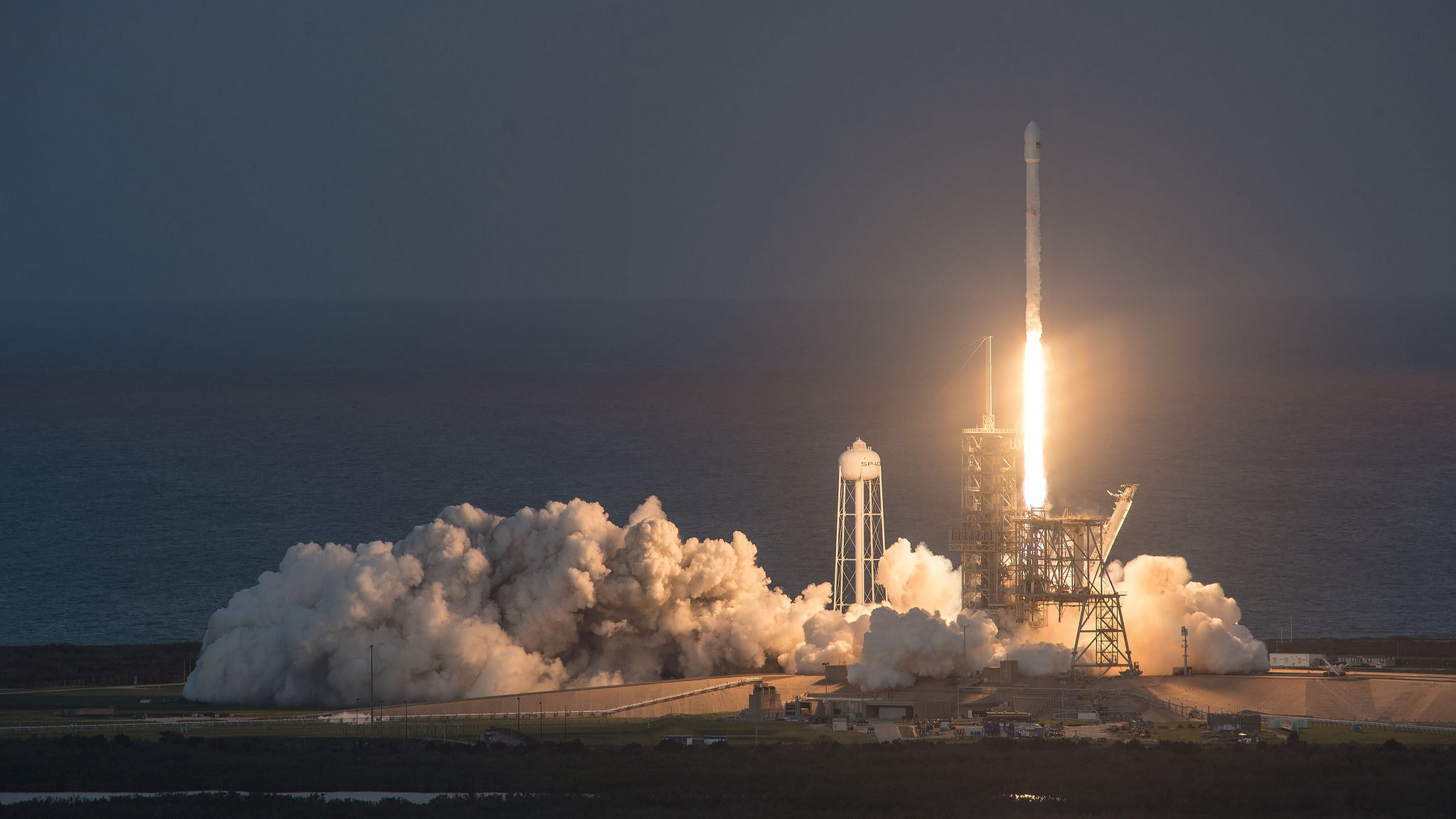 SpaceX sends recycled rocket to dock with ISS in world first