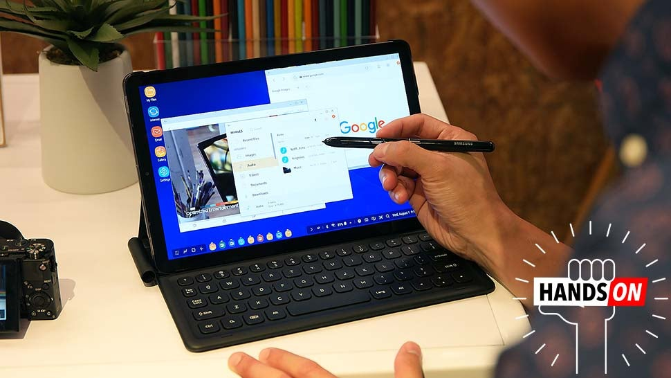 Samsung's Latest Tablet Is Trying To Out Pro The iPad