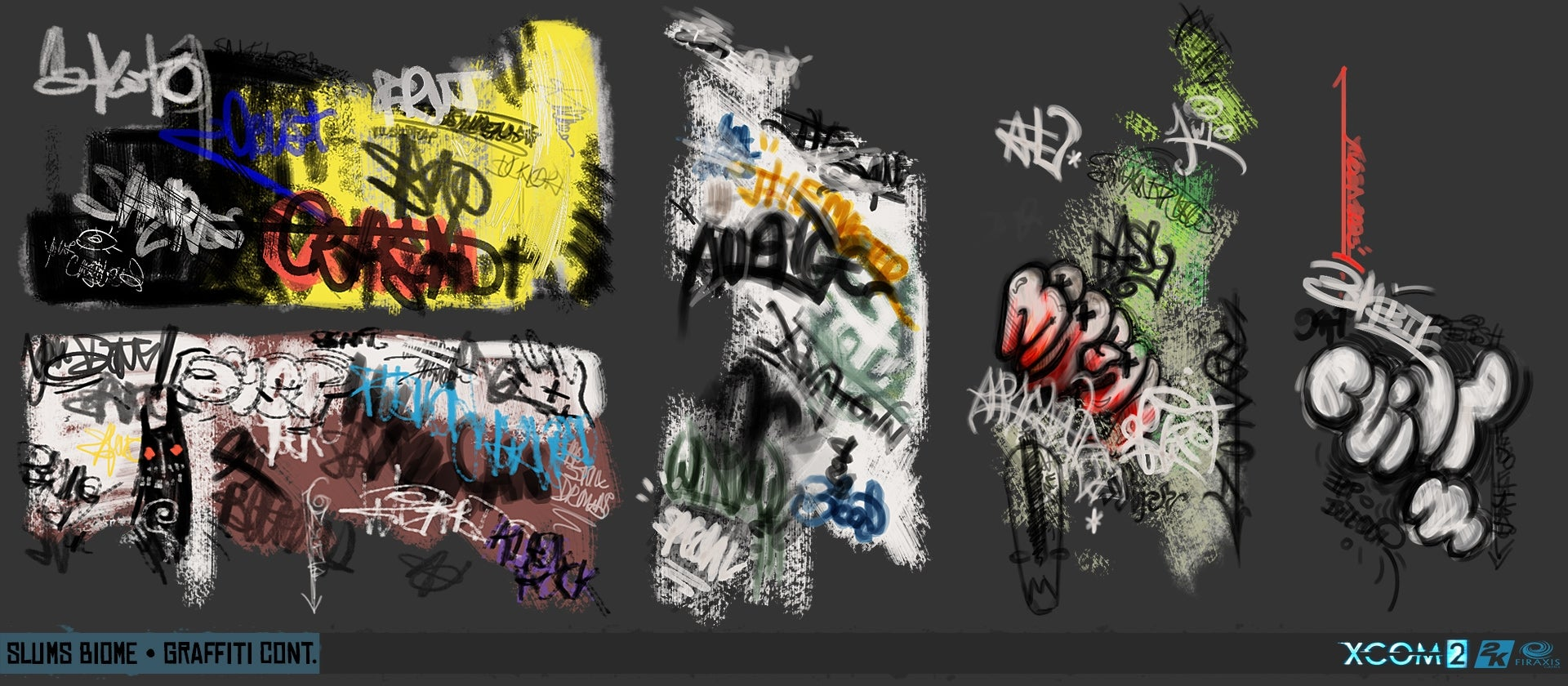 The People, Guns & Graffiti Of XCOM 2
