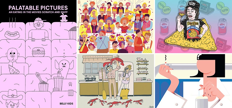 Relive Memorable Movie Scene Munchies Through This Scratch and Sniff Book