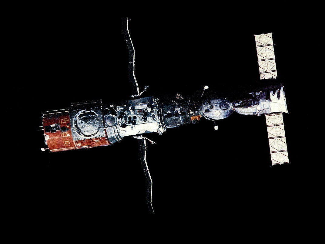 ussr launches mir space station - photo #6
