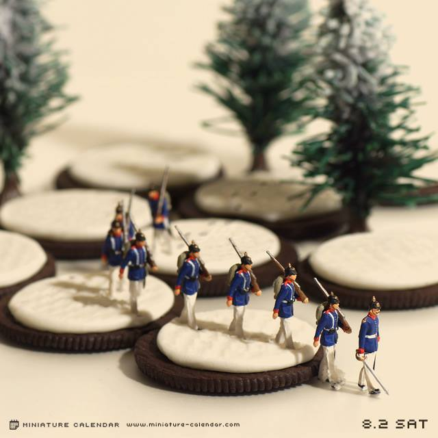 This Japanese Artist Creates a New Diorama Every Day