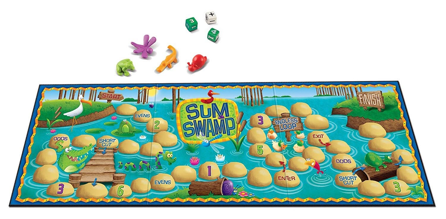 Encourage Mathematical Thinking With These Board Games For Little Kids