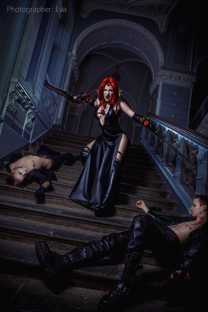 Bloodrayne Cosplay's Coming For Your Claret