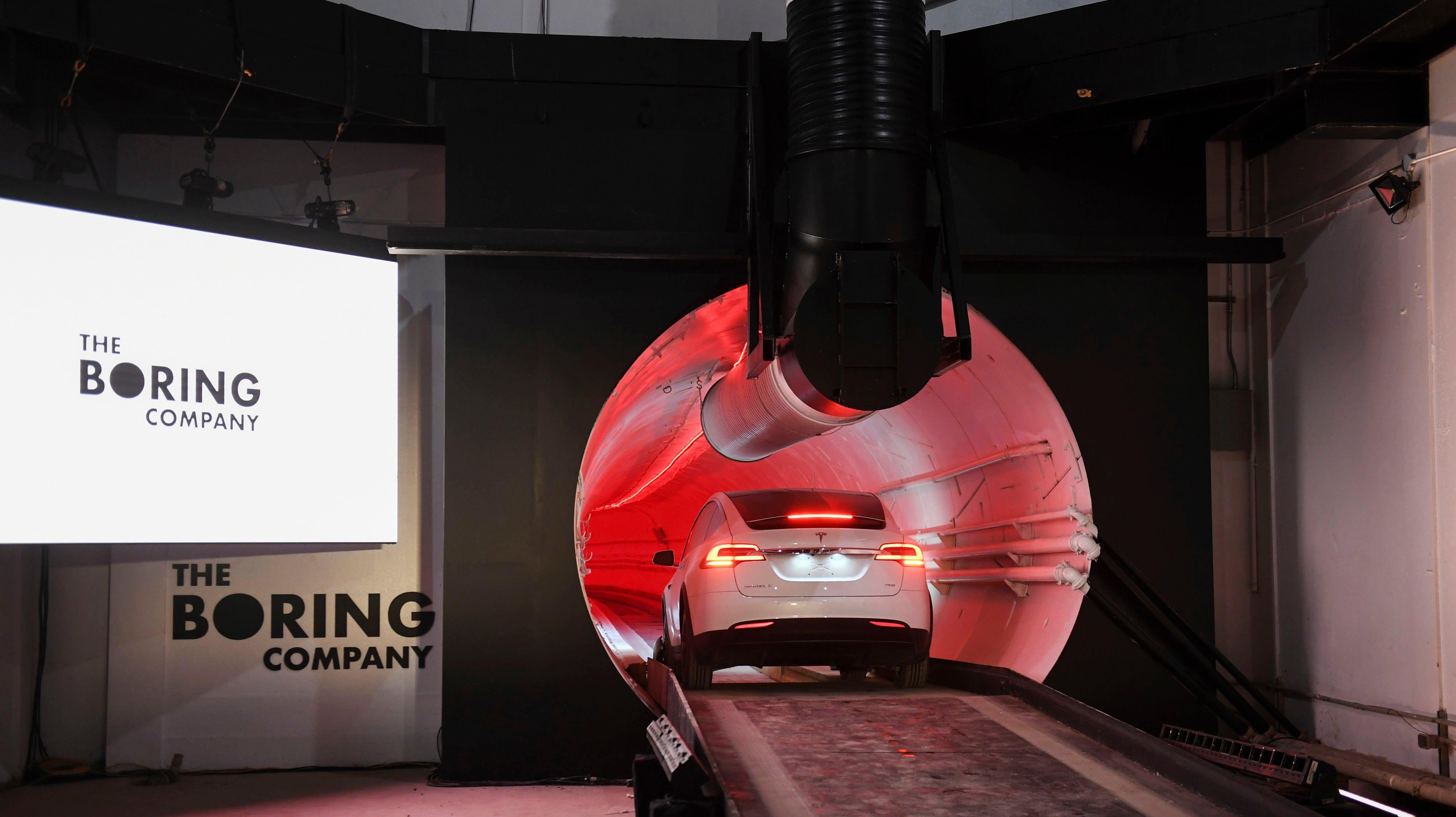 Elon Musk's Las Vegas Tunnel Kind Of Sucks?