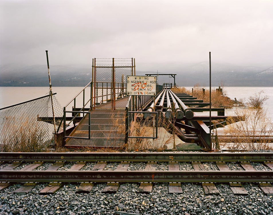 Beautiful Lonely Railroads Winding Through America's Landscape