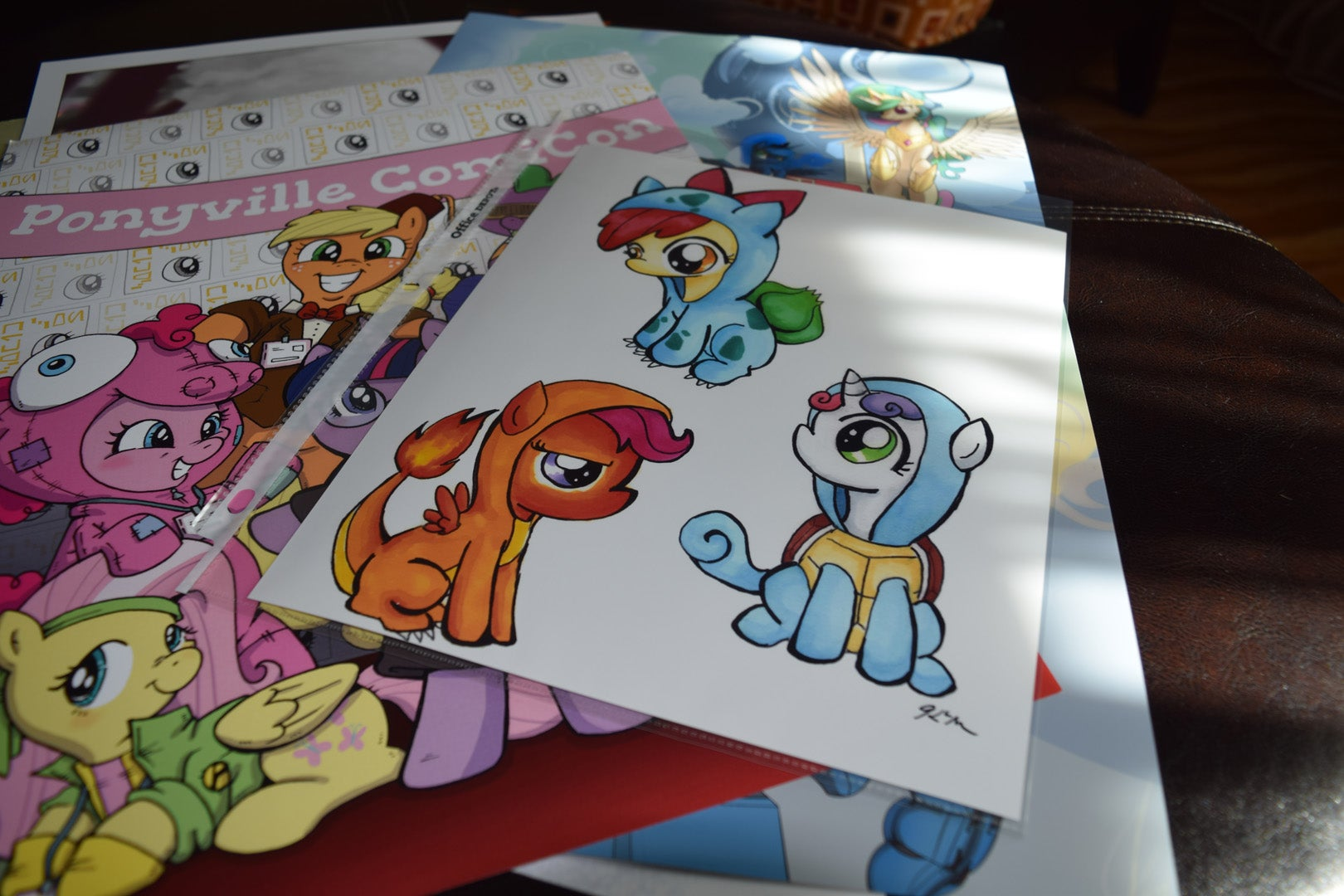 What I Bought At BronyCon