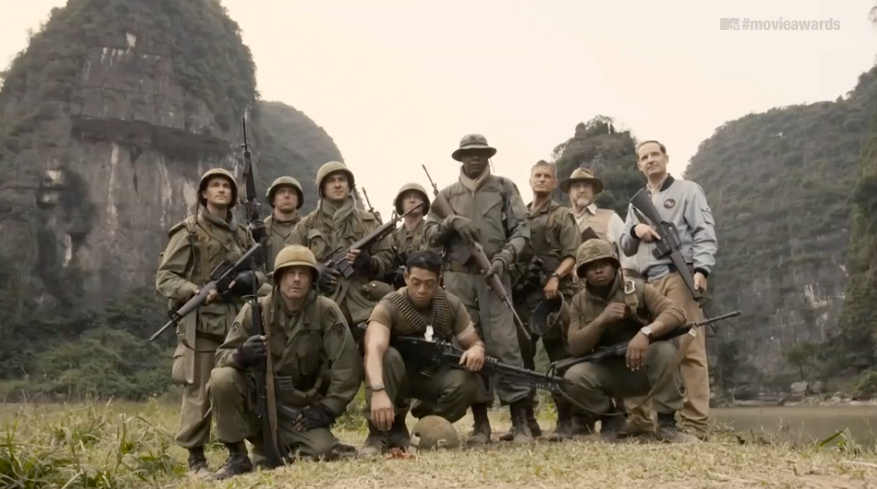 The Cast of Kong: Skull Island Discovers It's a Very Dangerous Place