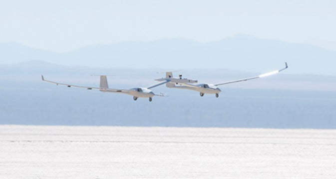 NASA's High Altitude Glider Can Fire Rockets Into Space from the Air