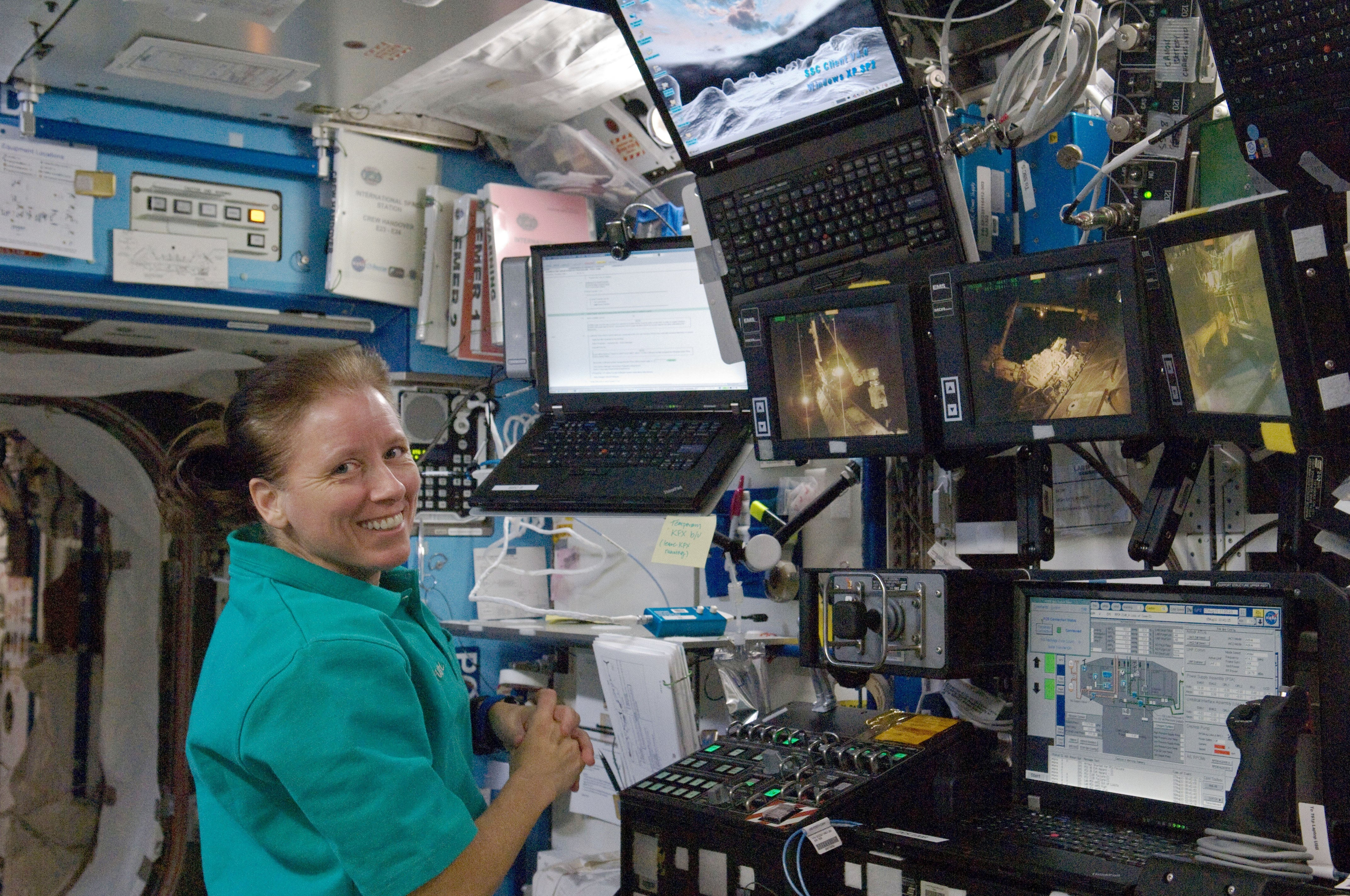 How Astronauts Use Laptops on the International Space Station