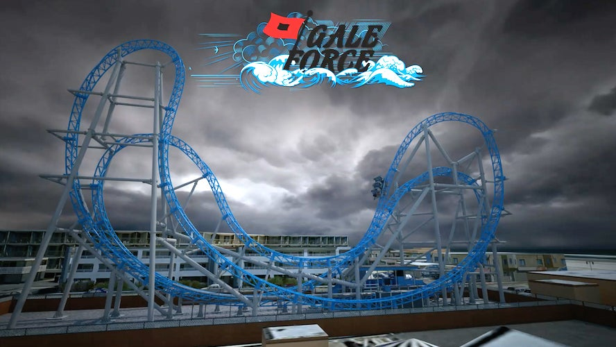 Crash Test Dummy Failures Send Them Flying Off Roller Coaster Into Nearby Hotel