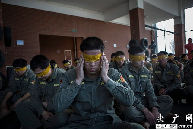 China's Personal Bodyguard Training Seems Ridiculously Intense