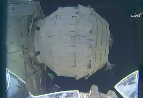 NASA BEAM Inflation Complete Saturday After Earlier Failed Attempt