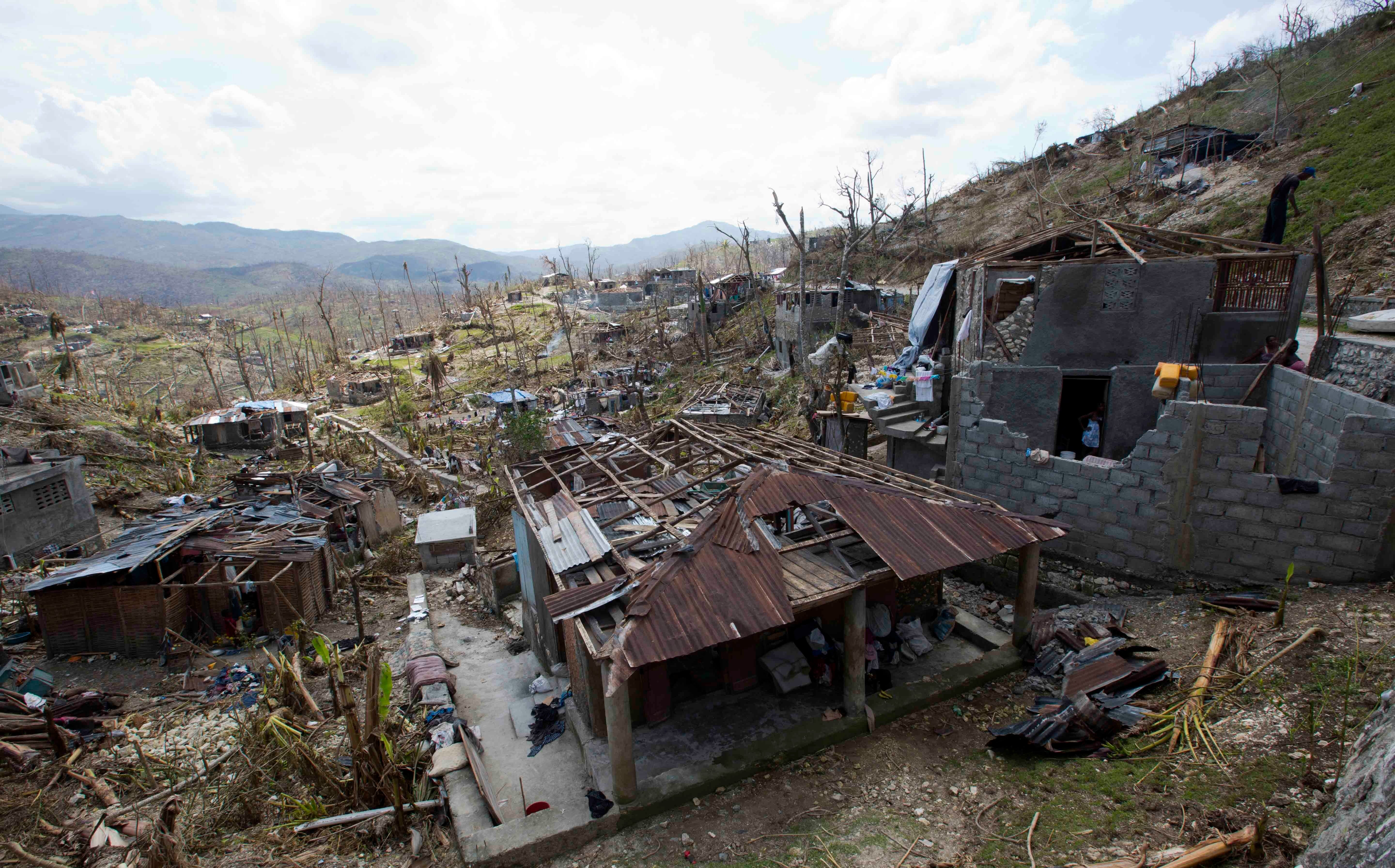 Haiti Faces Nightmare Combination Of Disease And Starvation After Hurricane Matthew