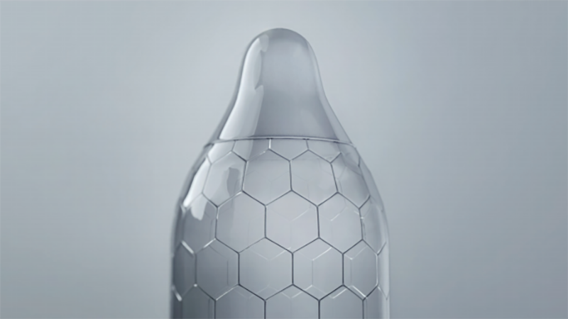 This Honeycomb Pattern Condom Feels Like An Overpriced Gimmick