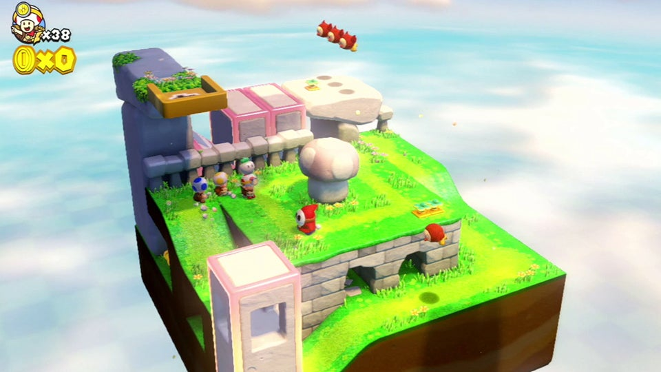If You Like Mario Cuteness and 3D Puzzles, Play Captain Toad