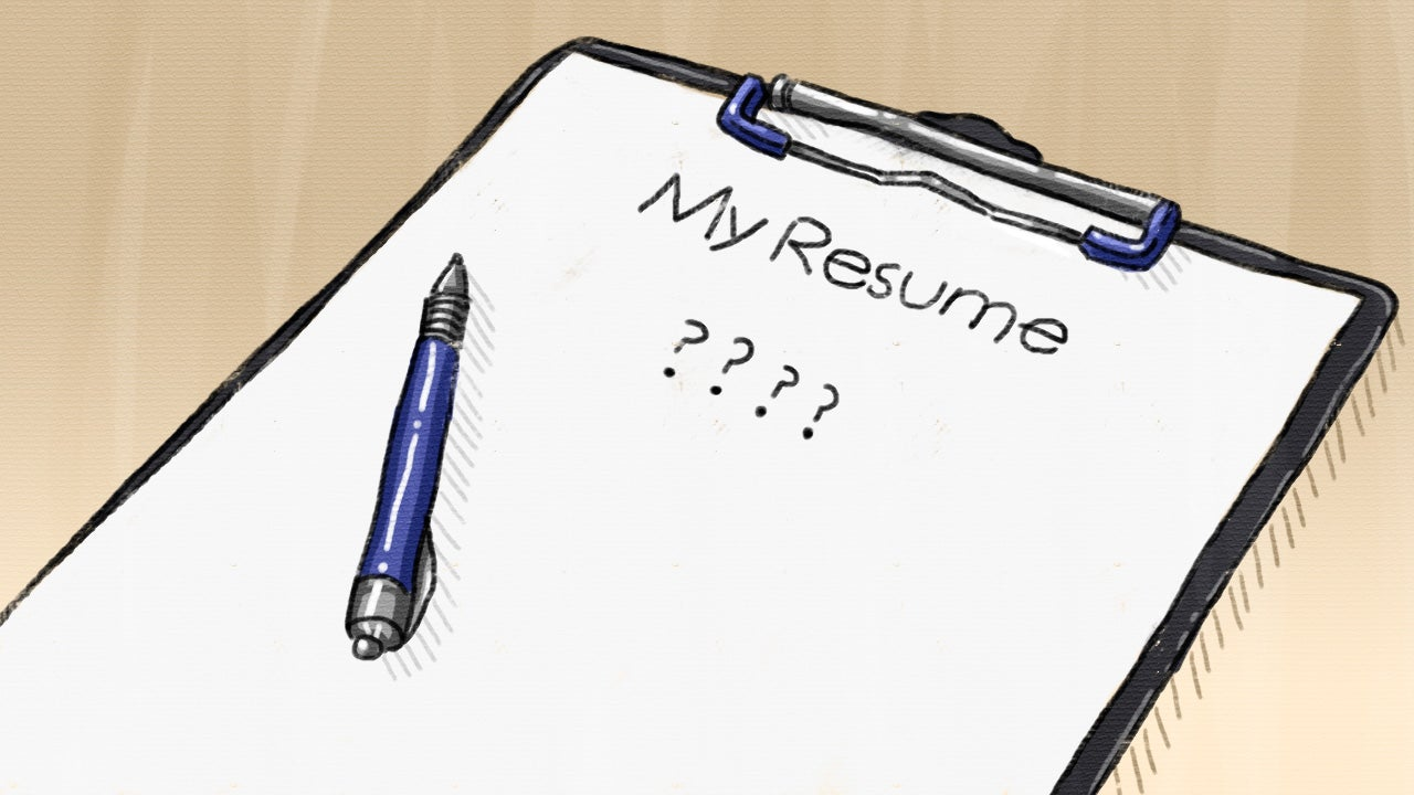 Ask LH How Can I Build A Resume When I Have Nothing To Put On It