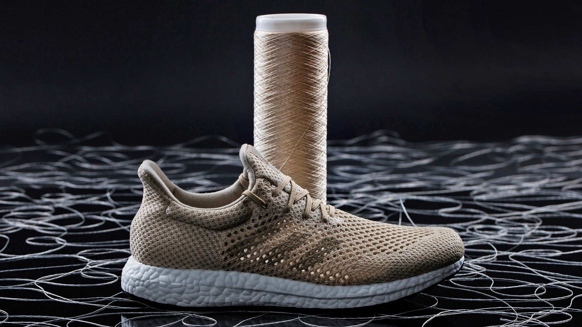 Adidas' New Biodegradable Sneakers Are Made From Ultra-Strong Artificial Silk Fibres