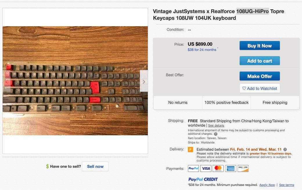 Someone Talk Me Out Of Spending $1,400 On Some Keyboard Caps