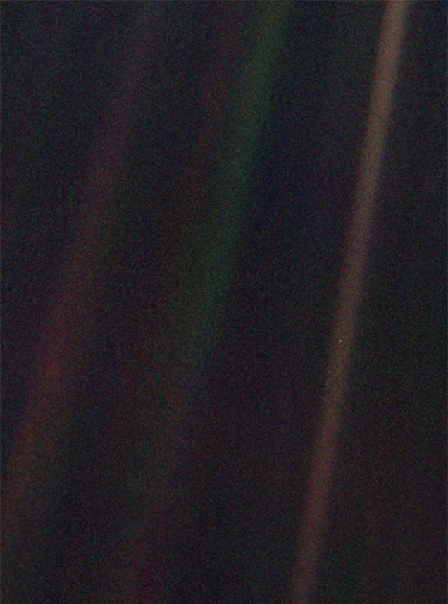 Today is the 25th anniversary of the Pale Blue Dot photograph