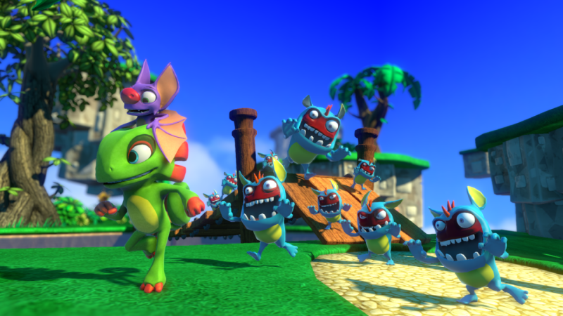 Yooka-Laylee Ditches JonTron's Voice Acting Over His 'Personal Viewpoints'
