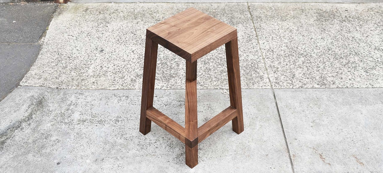 This Australian-Designed Optical Illusion Bar Stool Is Actually Safe For Sitting