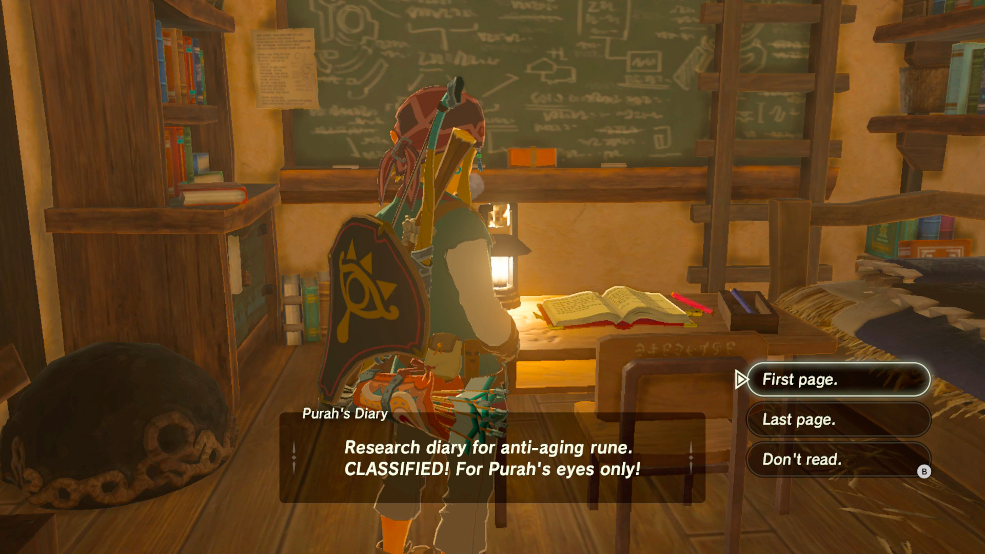 Zelda's Traditional Goofy Humour Is All Over Breath Of The Wild There's A  Surprising Amount Of Dialogue, Localised Impeccably By Nintendo's Talented