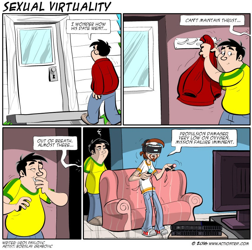 Sunday Comics: Sexual Virtuality