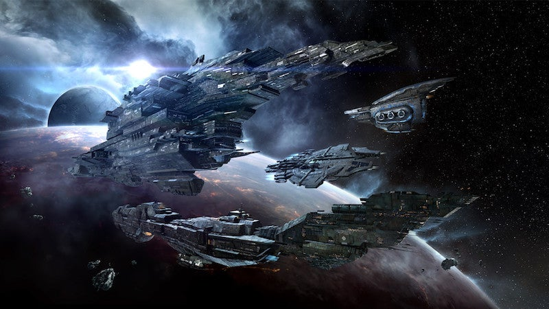 The Great Wars Of EVE Online