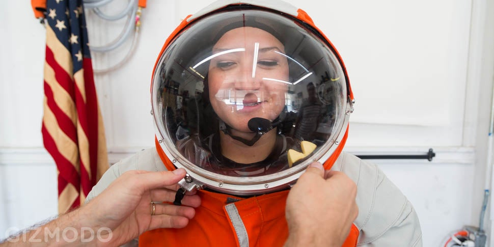 I Went to Brooklyn to Try on a Bonafide Spacesuit