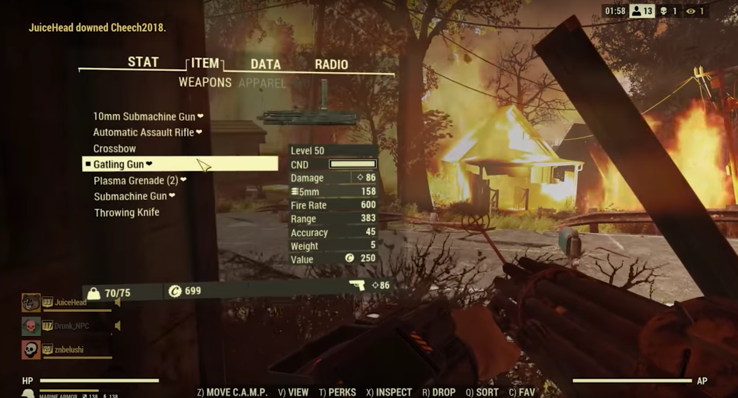 Stay Off Public Servers In Fallout 76 Until This Hack Is Fixed