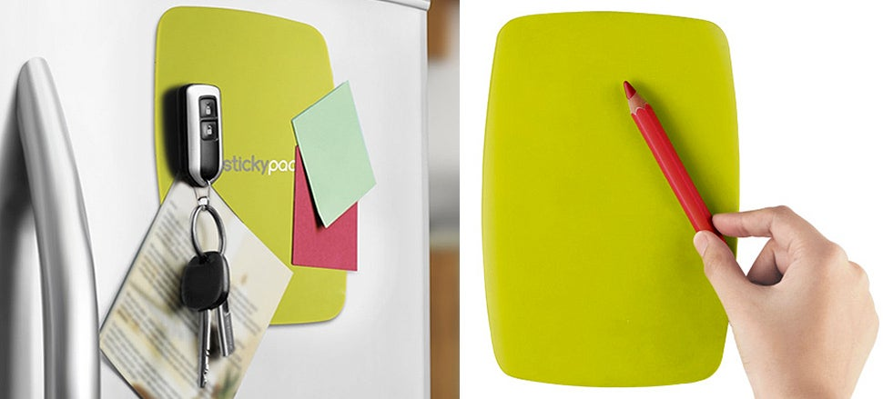 Silicone Pads Make Everything Stick To Your Fridge, Not Just Magnets