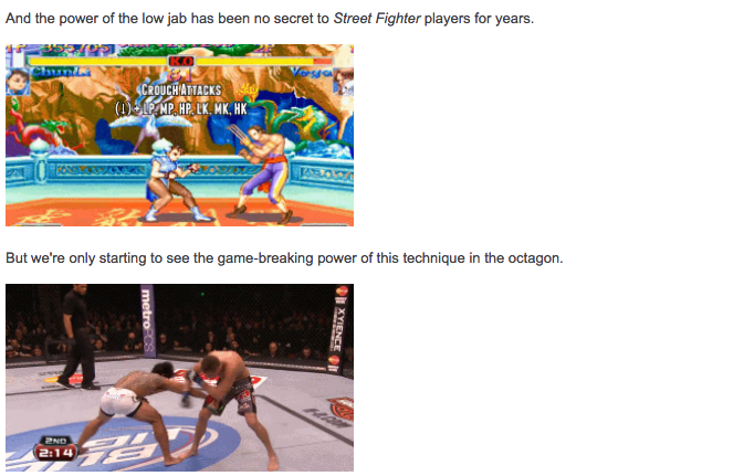 Worth Reading: Fighting Games Invade Real-Life, Game Length, And More